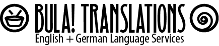 Bula! Translations